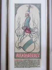 Wappen derer zu Leuchtenberg aus dem Müncnher Kalender von Otto Hupp