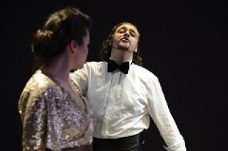 Bühnen-/Szenenfotos der OHP1 Tosca - Münchens kleinstes Opernhaus