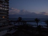 Balkon Blick nach Westen um 07.30 Uhr