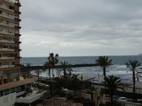 Blick vom Balkon nach Westen um 17.15 Uhr