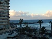Blick vom Balkon nach Westen um 18.30 Uhr