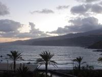 Blick vom Balkon nach Osten um 07.30 Uhr