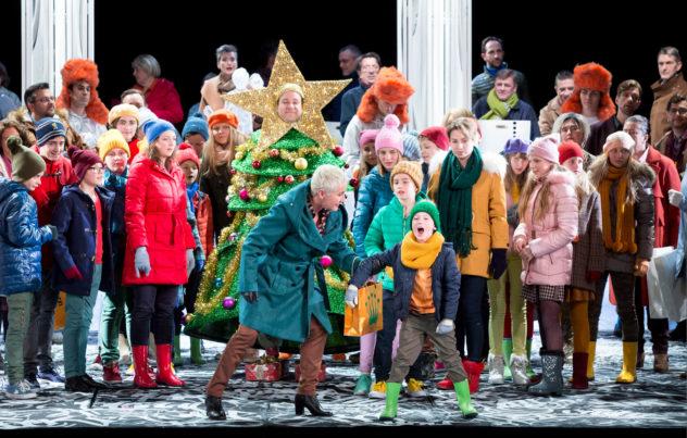 Chor und Kinderchor des Staatstheaters am Gärtnerplatz, Statisterie © Marie-Laure Briane