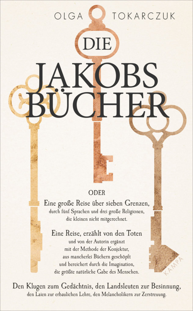 OLGA TOKARCZUK - Die Jakobsbücher ©KampaVerlag