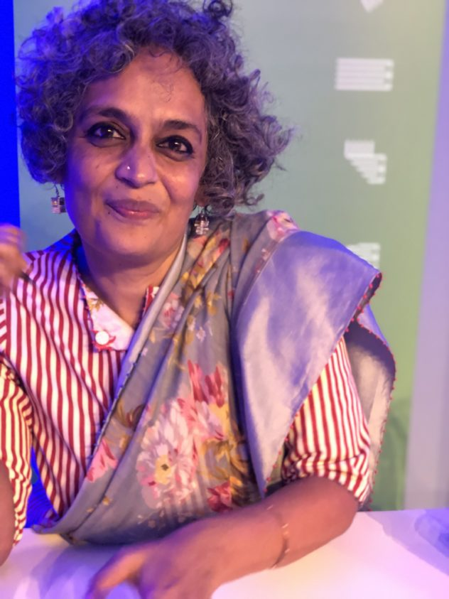 Arundhati Roy beim Edinburgh International Book Festival ©Nachtgedanken