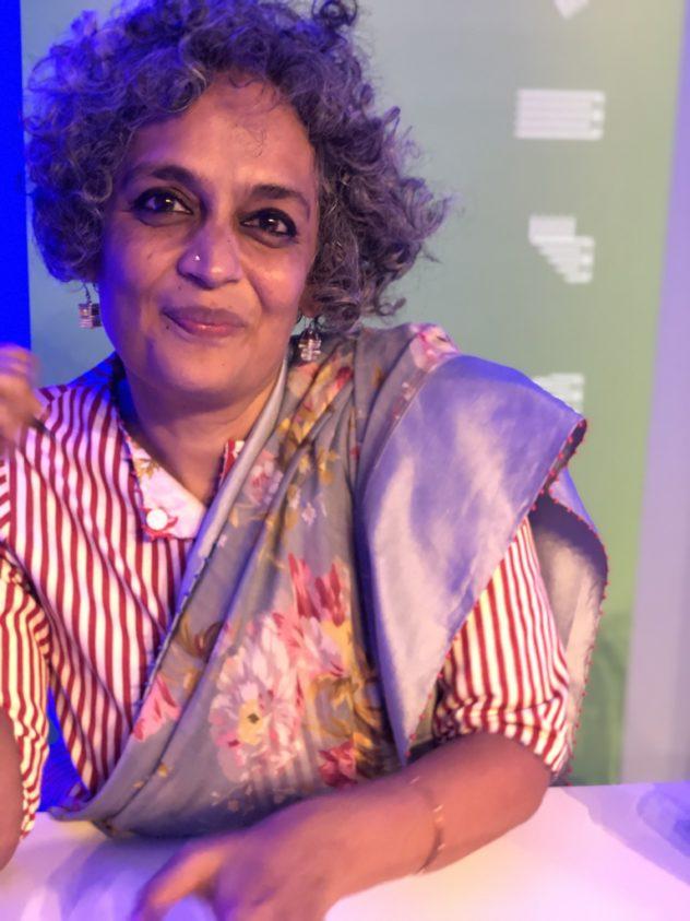 Arundhati Roy beim Edinburgh International Book Festival ©Nachtgedanken
