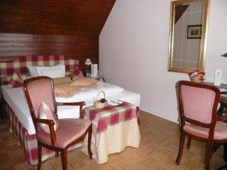 Mein Zimmer im Goldenen Anker in Bayreuth