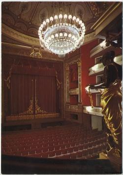 Innenraum des Gärtnerplatztheaters