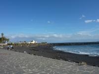 Blick nach Westen von der Strandpromenade aus