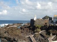 Kleine Burg in Garachico