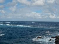 Blick aufs Meer in Garachico