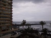 Blick vom Balkon nach Westen um 07.45 Uhr