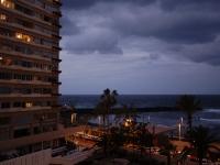 Blick vom Balkon nach Westen um 10.00 Uhr